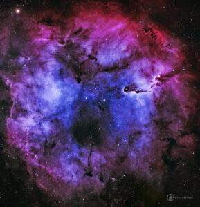 Elephant's Trunk Nebula mosaic image